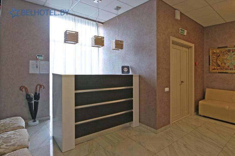 Hotels in Belarus - hotel Riviera - Reception, hall