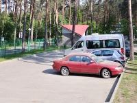 гасцінічны комплекс Дрывяты - Паркоўка