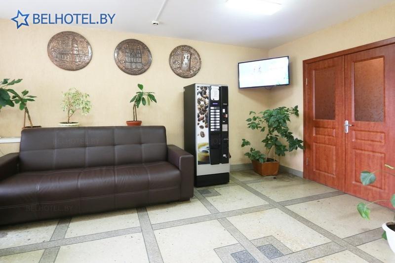 Гостиницы Белоруссии Беларуси - гостиница Желонь - Кофейный автомат
