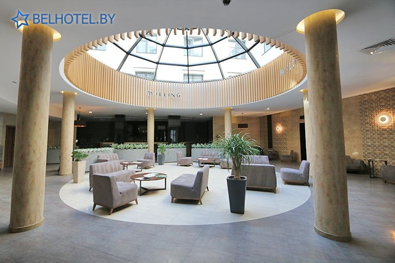 Hotels in Belarus - hotel Willing - Reception, hall