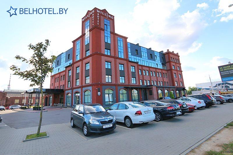 Hotels in Belarus - hotel Willing - External appearance