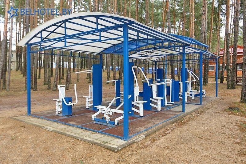 Hotels in Belarus - health-improving complex Sputnik Jdanovichi - Infrastructure